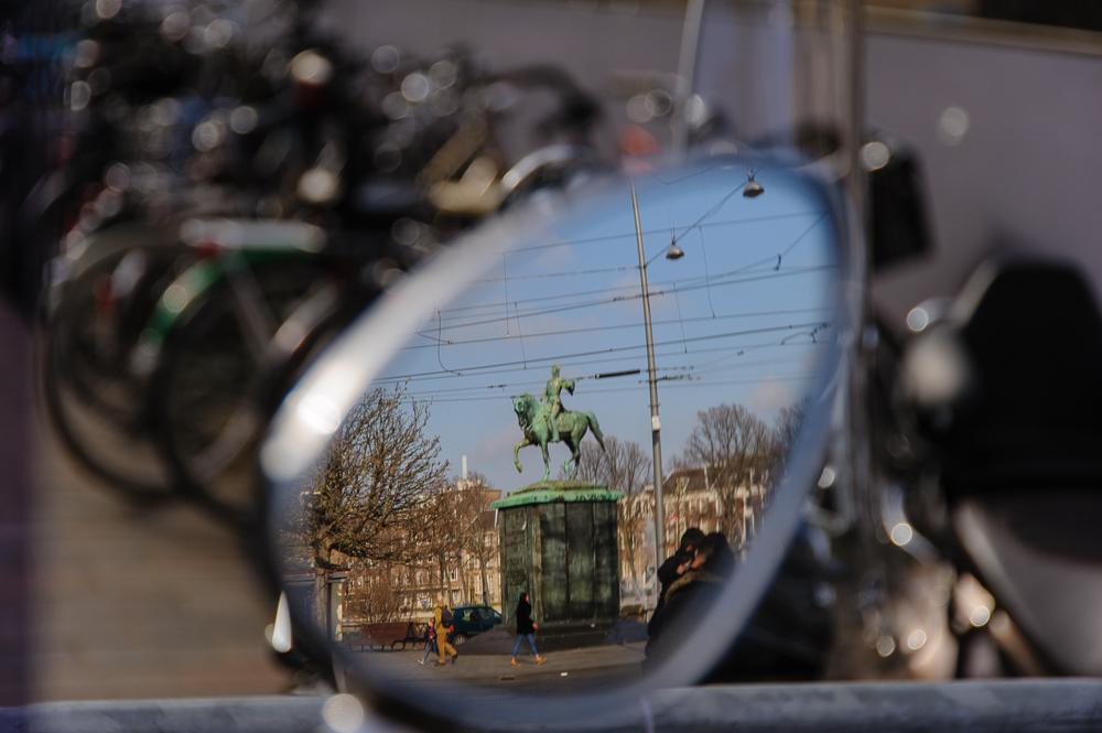 spiegelbeeld van Willem II