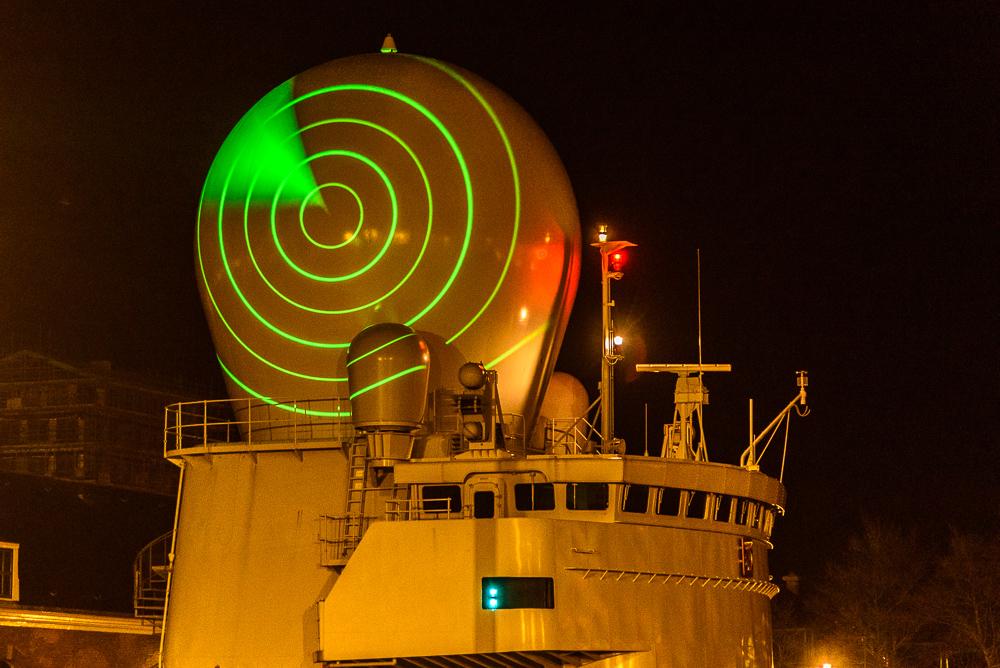 radarbol marineschip