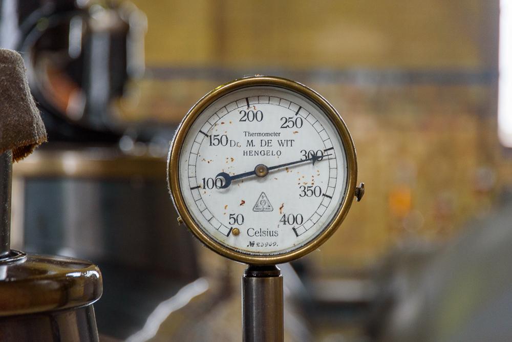 Ir. D.F. Woudagemaal temperatuurmeter