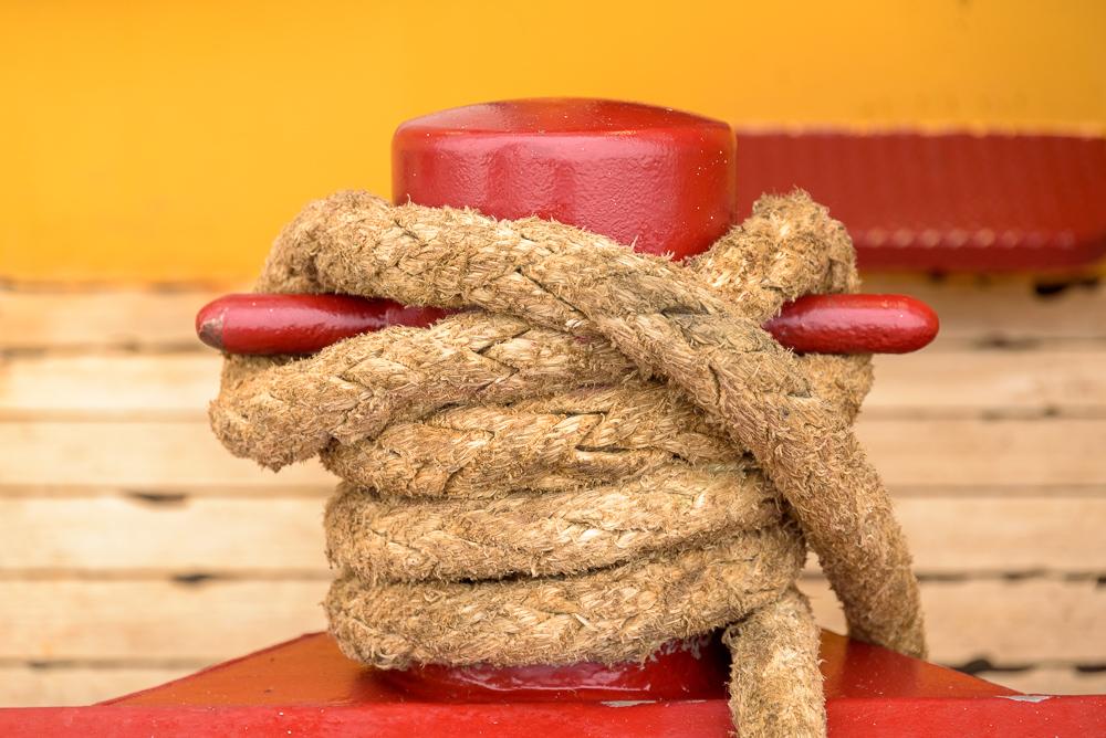 bolder met touw
