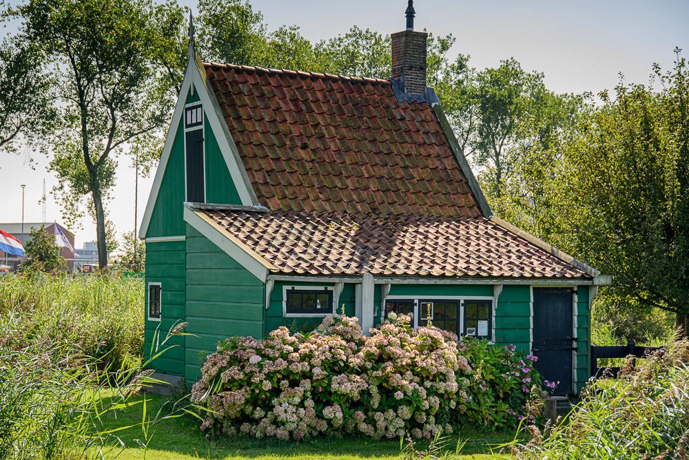 Jisper huisje, eenvoudige visserswoning  +/- 1850